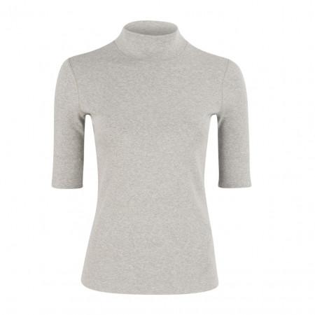 SALE % | Boss Casual | Basicshirt - Slim Fit - Rollkragen | Grau online im Shop bei meinfischer.de kaufen