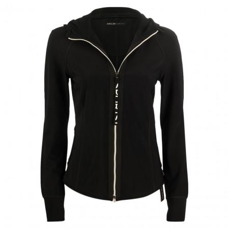 SALE % | Marc Cain | Sweatjacke - fitted - Zipper | Schwarz online im Shop bei meinfischer.de kaufen