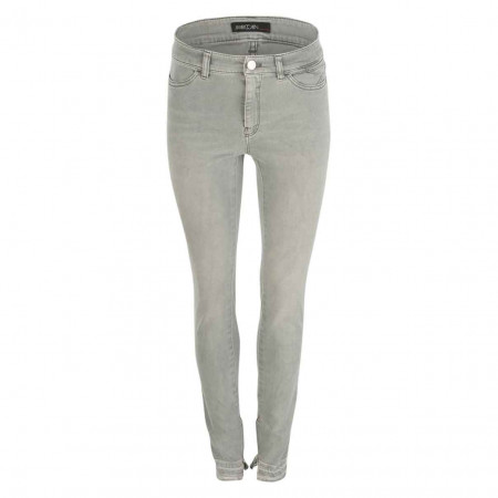 SALE % | Marc Cain | Jeans -  Slim Fit - Zierzipper | Grau online im Shop bei meinfischer.de kaufen