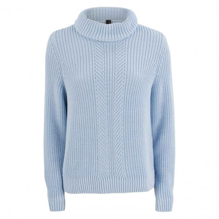 SALE %   Marc Cain   Pullover - Comfort Fit - Rollkragen   Blau online im Shop bei meinfischer.de kaufen