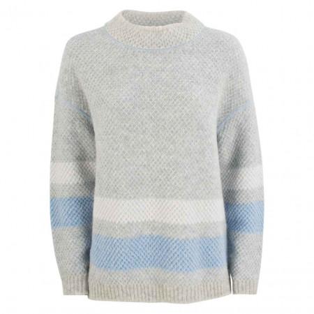 SALE % | Marc Cain | Pullover - Comfort Fit - Woll-Mix | Grau online im Shop bei meinfischer.de kaufen