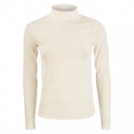SALE % | Marc Cain | Jerseyshirt - Slim Fit - Rolli | Weiß online im Shop bei meinfischer.de kaufen