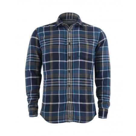 SALE % | Boss Casual | Hemd kariert legere Passform | Blau online im Shop bei meinfischer.de kaufen