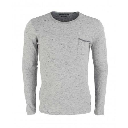 SALE % | Boss Casual | Longsleeve - fitted - Crewneck | Grau online im Shop bei meinfischer.de kaufen
