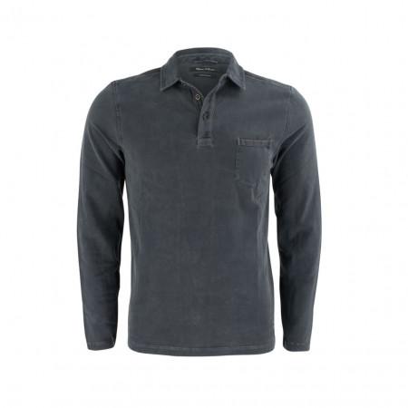 SALE % | Boss Casual | Poloshirt - Regular Fit - Brusttasche | Grau online im Shop bei meinfischer.de kaufen