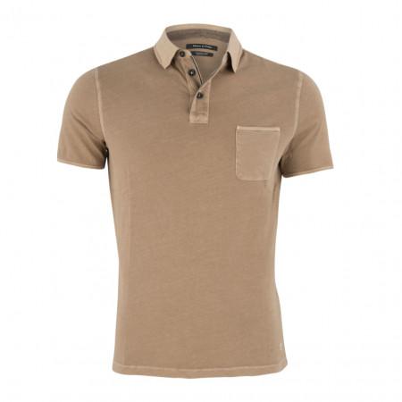 SALE % | Boss Casual | Polsohirt - Regular Fit - Garement Dyed | Braun online im Shop bei meinfischer.de kaufen