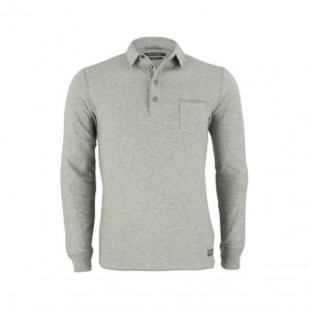 SALE % | Boss Casual | Poloshirt - Slim Fit - Double-Face | Grau online im Shop bei meinfischer.de kaufen