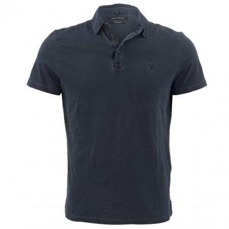 SALE % | Marc O'Polo | Poloshirt - Regular Fit - Stripes | Blau online im Shop bei meinfischer.de kaufen