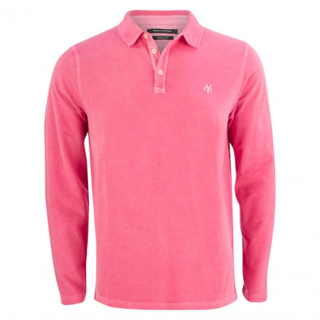 SALE %   Marc O'Polo   Poloshirt - Regular FIt - Label-Patch   Pink online im Shop bei meinfischer.de kaufen