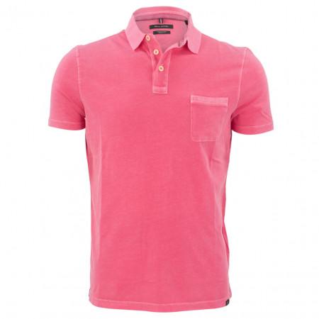 SALE % | Marc O'Polo | Poloshirt - Shaped Fit - unifarben | Rosa online im Shop bei meinfischer.de kaufen