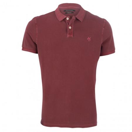 SALE % | Marc O'Polo | Poloshirt - Regular Fit - unifarben | Rot online im Shop bei meinfischer.de kaufen