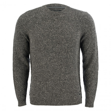 SALE %   Marc O'Polo   Woll-Pullover - Regular Fit - Crewneck   Grau online im Shop bei meinfischer.de kaufen