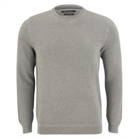 SALE % | Marc O'Polo | Pullover - Regular Fit - Struktur | Grau online im Shop bei meinfischer.de kaufen