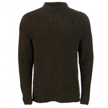 SALE % | Marc O'Polo | Pullover - Slim Fit - Stehkragen | Grün online im Shop bei meinfischer.de kaufen