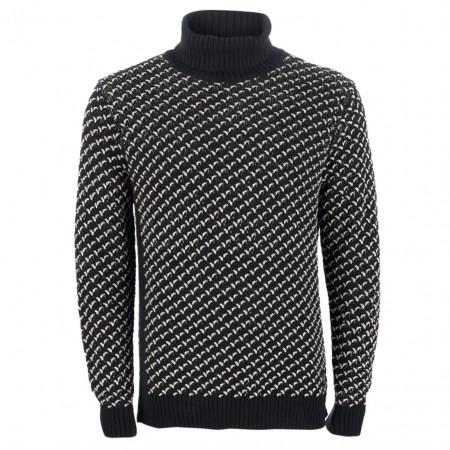 SALE % | Marc O'Polo | Pullover - Modern Fit - Rollkragen | Blau online im Shop bei meinfischer.de kaufen
