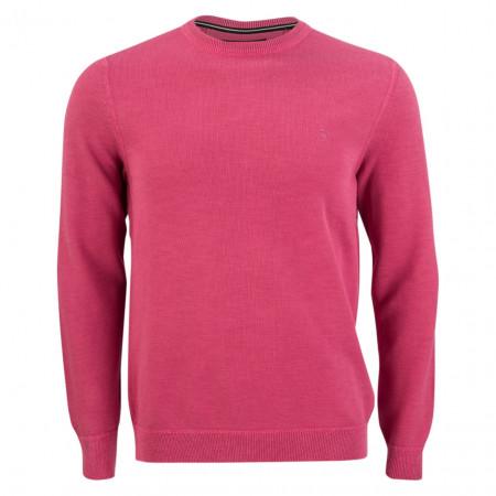 SALE % | Marc O'Polo | Pullover - Regular Fit - Struktur | Rosa online im Shop bei meinfischer.de kaufen