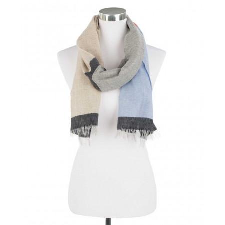 SALE % | Boss Casual | Leichter Schal - Fransen - Wolle | Beige online im Shop bei meinfischer.de kaufen
