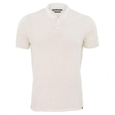 SALE %   Marc O'Polo   Henleyshirt - Shaped Fit - Crewneck   Weiß online im Shop bei meinfischer.de kaufen