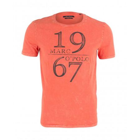 SALE % | Boss Casual | T-Shirt - Regular Fit - Crewneck | Orange online im Shop bei meinfischer.de kaufen