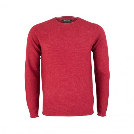 SALE % | Boss Casual | Strickpullover - Regular Fit - Merino | Rot online im Shop bei meinfischer.de kaufen
