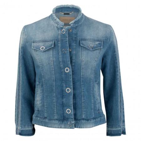 SALE % | Marc Cain | Denimjacke - Regular Fit - Washed | Blau online im Shop bei meinfischer.de kaufen