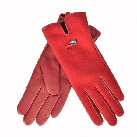 SALE %   Marc Cain   Handschuh - Leder   Rot online im Shop bei meinfischer.de kaufen