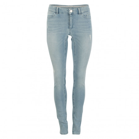 SALE %   Marc Cain   Jeans - Skinny Fit - Applikationen   Blau online im Shop bei meinfischer.de kaufen