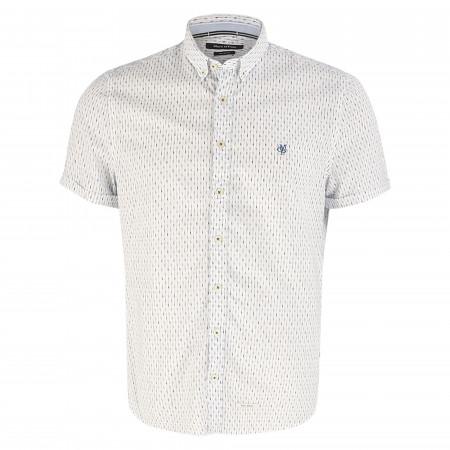 SALE % | Marc O'Polo | Freizeithemd - Shaped Fit - Button-Down | Weiß online im Shop bei meinfischer.de kaufen