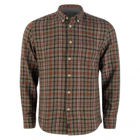 SALE % | Marc O'Polo | Freizeithemd - Regular Fit - Karo-Muster | Braun online im Shop bei meinfischer.de kaufen