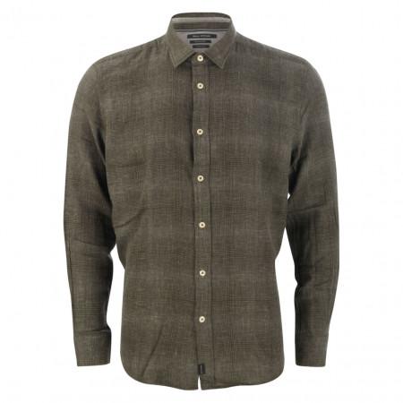 SALE % | Marc O'Polo | Hemd - Regular Fit - Minicheck | Grün online im Shop bei meinfischer.de kaufen