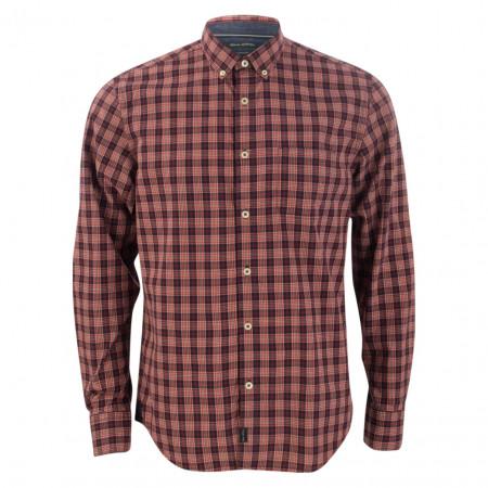 SALE % | Marc O'Polo | Hemd - Regular Fit - Karo | Rot online im Shop bei meinfischer.de kaufen