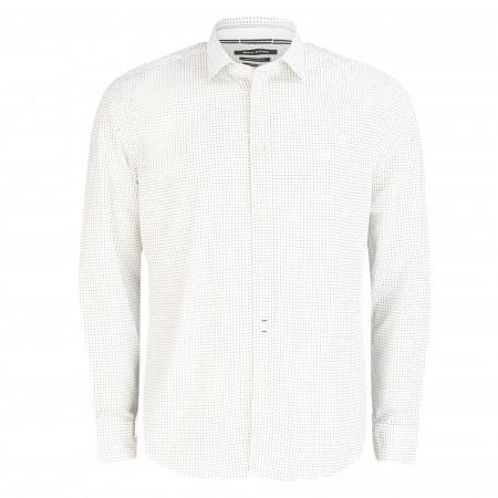 SALE % | Marc O'Polo | Hemd - Regular Fit - Kentkragen | Weiß online im Shop bei meinfischer.de kaufen