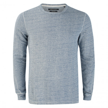 SALE % | Marc O'Polo | Pullover - Shaped Fit - Chunky Jersey | Blau online im Shop bei meinfischer.de kaufen