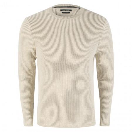 SALE % | Marc O'Polo | Pullover - Regular Fit - Crewneck | Grau online im Shop bei meinfischer.de kaufen