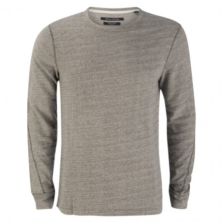 SALE % | Marc O'Polo | Pullover - Shaped Fit - Chunky Jersey | Grau online im Shop bei meinfischer.de kaufen