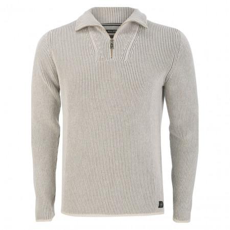 SALE % | Marc O'Polo | Pullover - Regular Fit - Zipper | Grau online im Shop bei meinfischer.de kaufen