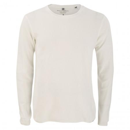 SALE % | Marc O'Polo | Pullover - Casual Fit - Crewneck | Weiß online im Shop bei meinfischer.de kaufen