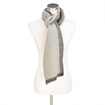 SALE % | Marc O'Polo | Schal - Muster | Grau online im Shop bei meinfischer.de kaufen