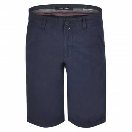 SALE % | Marc O'Polo | Shorts - Regular Fit - unifarben | Blau online im Shop bei meinfischer.de kaufen