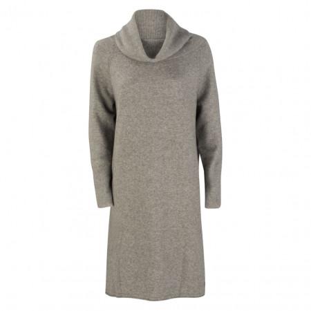 SALE % | Marc O'Polo | Strickkleid - oversized - Schalkragen | Grau online im Shop bei meinfischer.de kaufen