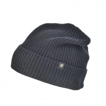 SALE % | Marc O'Polo | Strickmütze - Muster | Blau online im Shop bei meinfischer.de kaufen