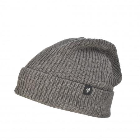 SALE % | Marc O'Polo | Strickmütze - Muster | Grau online im Shop bei meinfischer.de kaufen