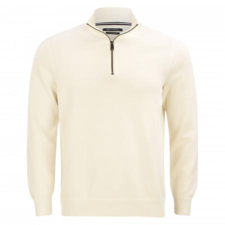 SALE %   Marc O'Polo   Troyer - Regular Fit - Zip   Weiß online im Shop bei meinfischer.de kaufen