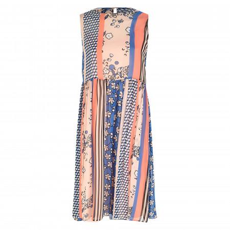 SALE %   Marc O'Polo Denim   Kleid - Loose Fit - Print   Blau online im Shop bei meinfischer.de kaufen