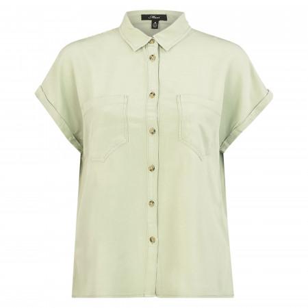 SALE %   Mavi   Hemdbluse - Comfort Fit - Leinen-Mix   Grün online im Shop bei meinfischer.de kaufen
