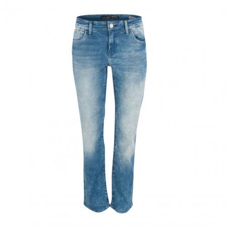SALE % | Boss Casual | Jeans - MONA - Straight Fit | Blau online im Shop bei meinfischer.de kaufen