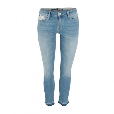 SALE % | Boss Casual | Jeans - SOPHIE - Skinny Fit - 7/8 | Blau online im Shop bei meinfischer.de kaufen