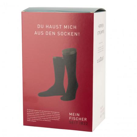 SALE % | U Fischer | Sockenbox - 8 paar - uni | Schwarz online im Shop bei meinfischer.de kaufen