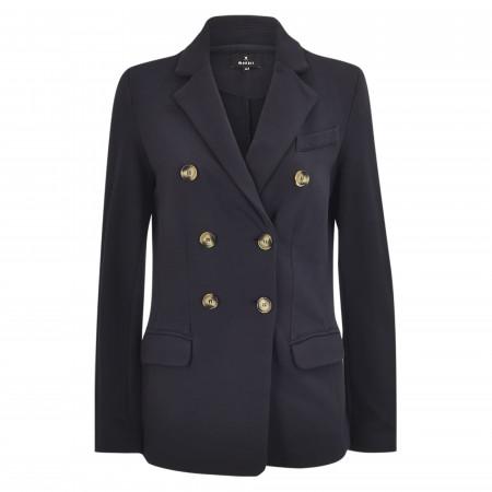 SALE %   Monari   Blazer - Loose Fit - Jersey   Blau online im Shop bei meinfischer.de kaufen