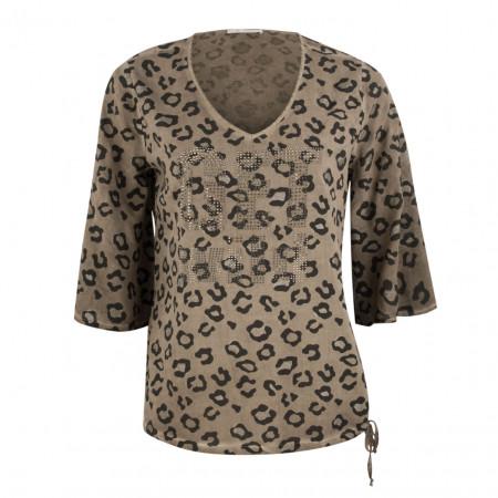 SALE %   Boss Casual   Bluse - oversized - 3/4-Arm   Braun online im Shop bei meinfischer.de kaufen